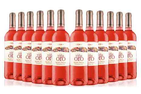 San Jamon - 12 bottle case of Vina Oro wine - Save 56%