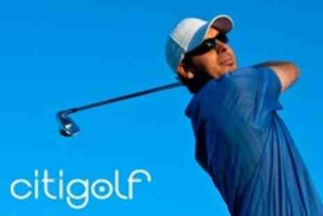 CitiGolf - Indoor Golf With Beer and Pizza For Up to Four People - Save 56%