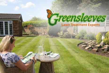 Greensleeves Lawn Care,- 400 Sq Metres of Lawn Treatment, Weed Control - Save 60%