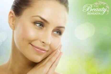 Beauty Beneath - Skin Polish Facial and Back Massage For One - Save 62%