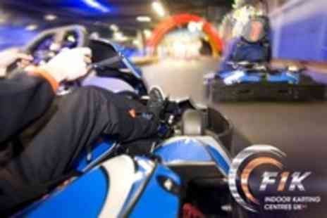 F1K Birmingham - Up to 50 Lap Karting Race - Save 22%
