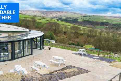Holmfirth Vineyard - Yorks vineyard tour, tasting and afternoon tea for 2 - Save 36%