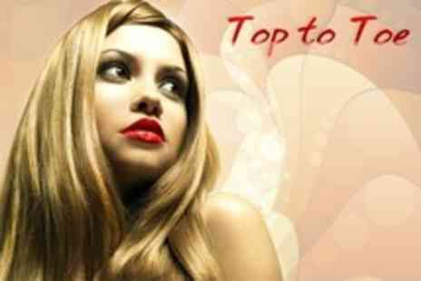 Top To Toe - Half Head Foils With Cut and Blow Dry  - Save 69%