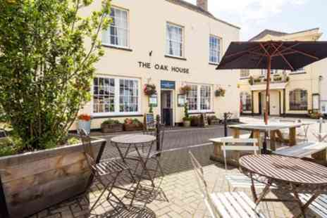 The Oakhouse Hotel - Double Room for Two with Breakfast, Glass of Wine - Save 40%