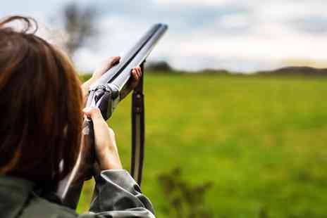 Birds of Prey Centre - Laser clay pigeon shooting for Two - Save 50%