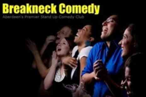 Breakneck Comedy - Two Comedy Tickets With Choice of Shows - Save 75%
