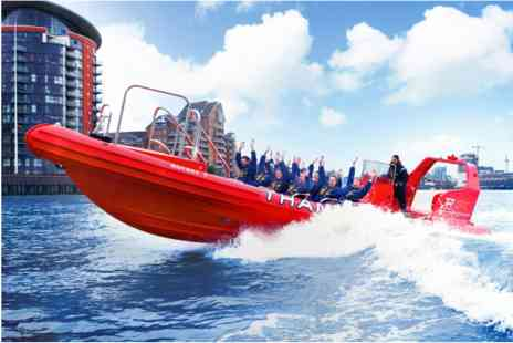Virgin Experience Days - Thames Rockets Private Group Speedboat Ride - Save 0%