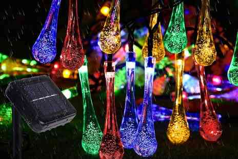 Magic Trend - Solar raindrop string light and string lights - Save 80%