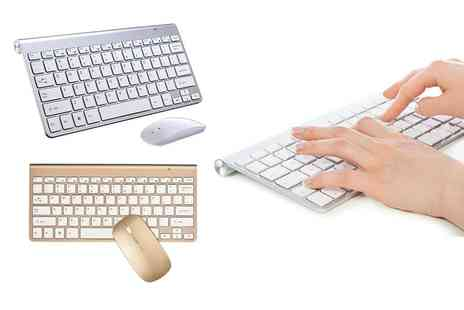 Avant Garde - Wireless keyboard and mouse set - Save 43%