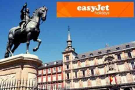 easyJet Holidays - Two Night Stay For Two With Flights, Breakfast and Complimentary Room per person arriving between 1 and 31 January 2013 - Save 43%