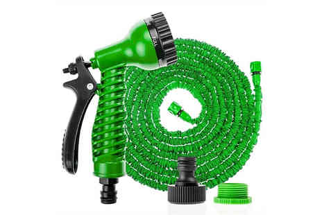 Direct 2 public - Expandable Garden Hose - Save 80%