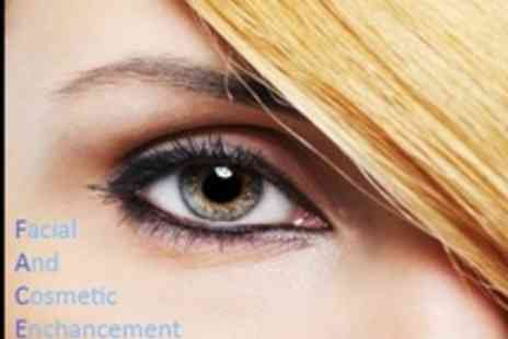 Face Cosmetics - Semi Permanent Make up Choice of 3D Eyebrows or Eyeliner - Save 72%