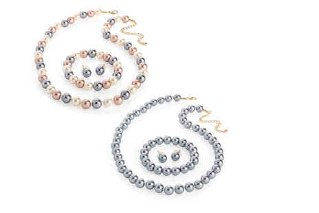 Gem Nations - Luxury pearl tri set - Save 0%