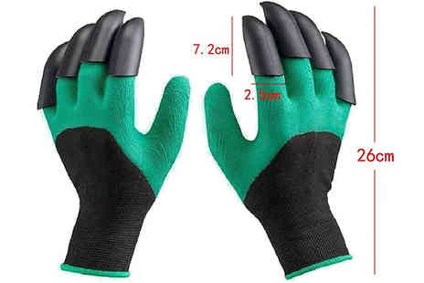 Wish Whoosh Offers - Pair of Waterproof Gardening Claw Gloves - Save 50%