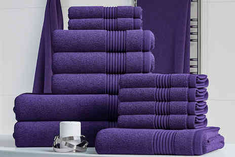 Bliss Home Living - 12 piece cotton towel bale - Save 0%