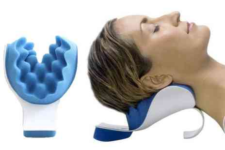 BluFish - Head and Neck Posture Support Pillow - Save 50%