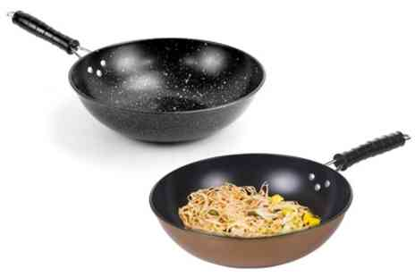 Groupon Good - Urbn Chef Non Stick Induction Wok - Save 61%