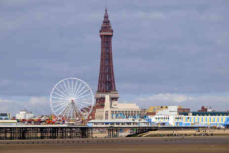 White Lodge Inn - Overnight Blackpool stay for two people with bottle of wine - Save 29%