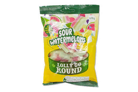 Online Clearance Store - 6 x Sour Watermelon Slices 170g Bags - Save 25%