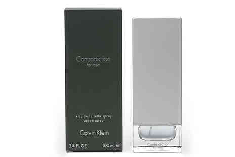 Fragrance and Cosmetics - Calvin Klein Contradiction Homme EDT Spray 100ml - Save 54%