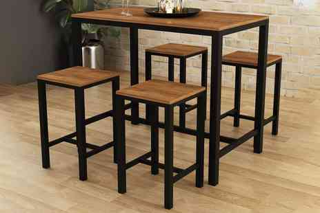 London Furniture Outlet - Ellson bar set - Save 60%