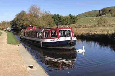 Skipton Boat Trips - Afternoon tea boat cruise for two people - Save 28%