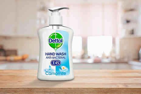Trojan Electronics 2018 - 250ml bottle of Dettol anti bacterial hand wash - Save 0%