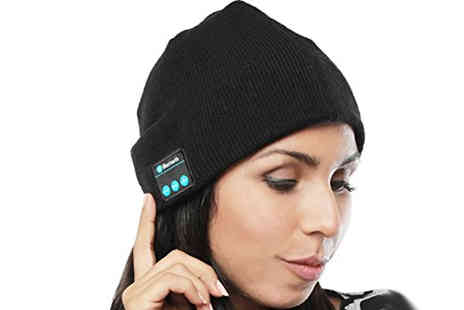 Magic Trend - Bluetooth Headphones Beanie Hat - Save 78%