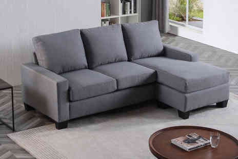 Furniture Instore - Carla fabric universal chaise corner settee - Save 0%