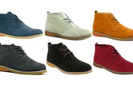 Groupon Goods Global GmbH - Mens Suede Desert Boots - Save 10%