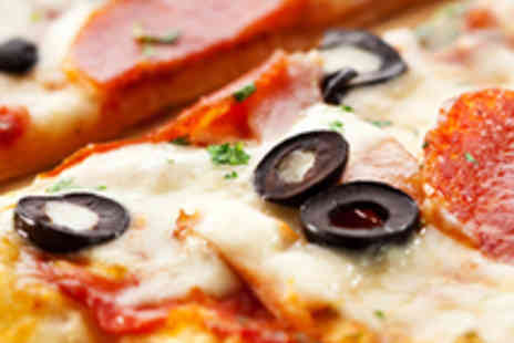 Vulcan Lounge - Two Pizzas or Two Pastas and Two Glasses of Wine - Save 53%