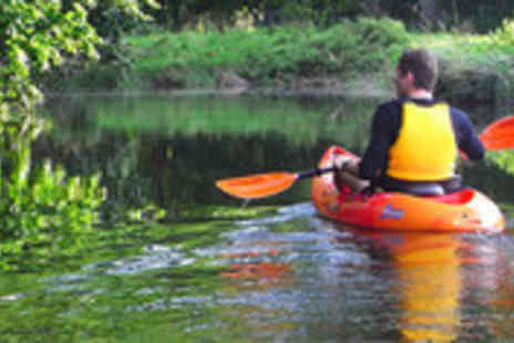 Chester Kayak Hire - Kayaking or canoeing for two people - Save 52%