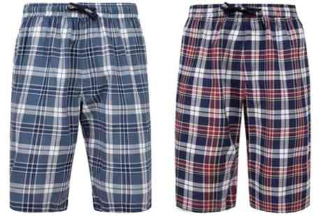 Groupon Goods Global GmbH - Tokyo Laundry Mens 100% Cotton Redlock Shorts - Save 0%