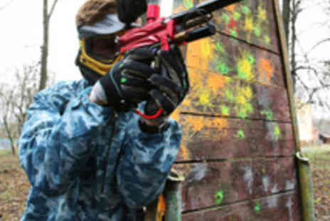 Reaper Paintball - Paintballing Day with 200 Paintballs - Save 73%