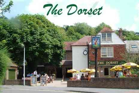 The Dorset - Two Course Meal For Two - Save 55%