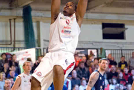 Leicester Riders - Two Adult Tickets to Leicester Riders vs USA - Save 64%