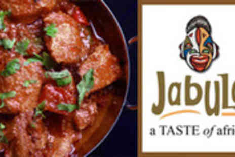 Jabula - Exotic two course African sharing platter for two people plus drinks - Save 53%
