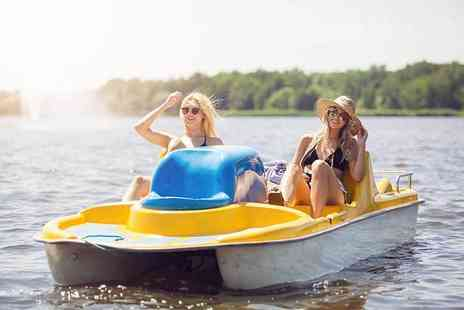 Frodsham Watersports - One hour peddle boat session for two - Save 0%
