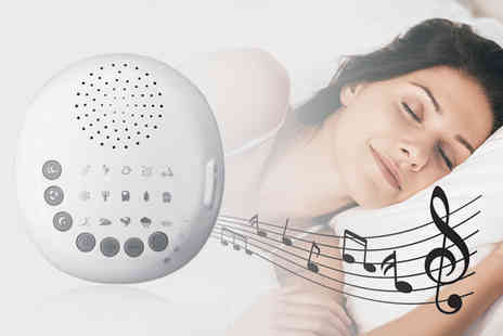 hey4beauty - White noise sleep therapy machine - Save 62%