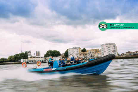 City Cruises - High speed Thames jetboat experience for two - Save 24%