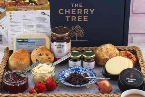 The Cherry Tree - Afternoon tea box delivery for two people - Save 0%