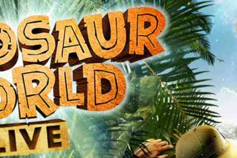 Helen Snell - Dinosaur World Live Roars into Drive In Venues across the UK this Summer - Save 0%
