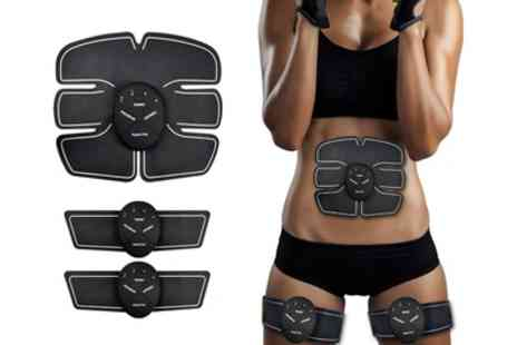 Groupon Goods Global GmbH - Apachie Muscle Stimulator Set for Abs, Arms and Legs - Save 0%