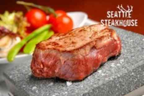 Seattle Steakhouse - Two Courses For Two - Save 59%