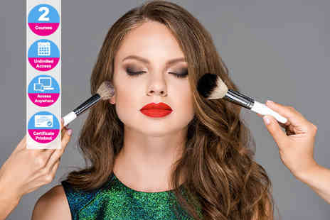 Online Beauty Training - Bridal and evening makeup course - Save 0%