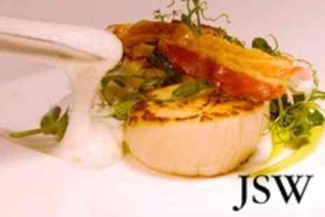 JSW - Seven Course Tasting Menu For Two With Champagne - Save 50%
