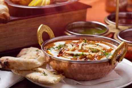 Crown Jewel Restaurant - Two Course Indian Meal with Sides - Save 44%