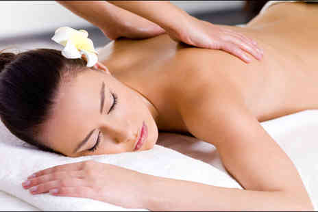 Saasha Hair & Beauty - One of two indulgent massage and facial packages - Save 78%