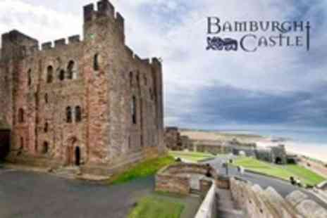 Bamburgh Castle - Day Pass For Two Adults - Save 50%