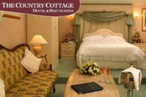The Country Cottage Hotel - In Ruddington Overnight Stay For Two With A La Carte Dinner and Breakfast in Standard Room - Save 60%